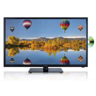 AXESS 32 In LED HDTV Features VGA HDMI SD USB Inputs Built-In DVD Player Full Function Remote