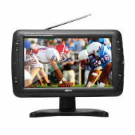 TV1703-9 9 Portable TV ATSC with Rechargeable Battery
