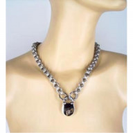 Locking Triple Link Chainmaille Necklace