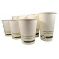 World Centric Paper Cups, Hot, 12 Oz (12x20 CT)