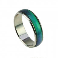 Size 7 Seventies Mood Rings with 1 Free E Mood Ring