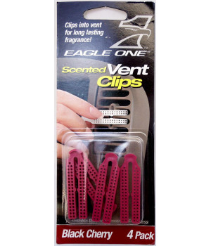 EAGLE ONE - BLACK CHERRY SCENTED VENT CLIPS 4 PACK