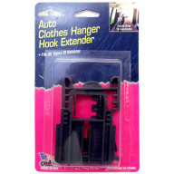HANG THING - AUTO CLOTHES HANGER HOOK EXTENSION, ATTACHES EASILY TO EXISTING AUTO HOOK AND WILL HOLD OVER 10 GARMENTS SECURELY