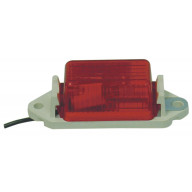 RED 2 HOLE SAEP2 97 DOT MARKER LIGHT