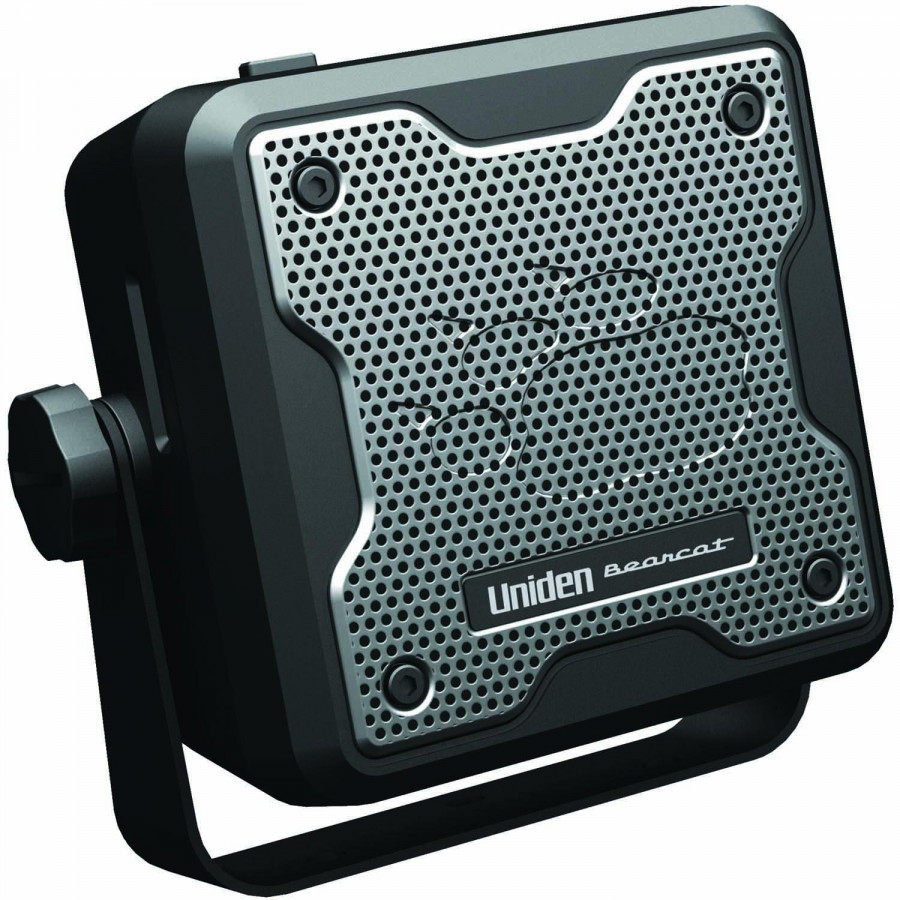 UNIDEN BC15 4 INCH 15 WATT CB/SCANNER EXTENSION SPEAKER WITH NOISE FILTER, 10' CORD, 3.5MM RT. ANGLE PLUG
