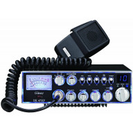 GALAXY DX47HP 100 WATT 10 METER RADIO WITH 7 COLOR SELECTABLE FACE, VARIABLE POWER OUTPUT, ECHO, ROGER BEEP, SWR CIRCUIT, PA