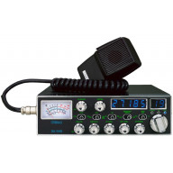 GALAXY DX939 40 CHANNEL CB RADIO WITH BLUE/GREEN BACKLIT FACEPLATE, 5 DIGIT FREQUENCY DISPLAY, SWR CIRCUIT, ROGER BEEP & RF/MIC GAIN