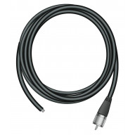 FIRESTIK - K850 RG58A/U 50' COAX CABLE WITH ONE BARE END & 1 END WITH A PL259 CONNECTOR