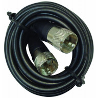 SOLARCON - 24' RG58AU COAX CABLE WITH MOLDED PL259 CONNECTORS