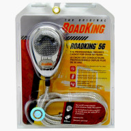 ROADKING - PROFESSIONAL NOISE CANCELLING DYNAMIC CHROME MICROPHONE WITH DURABLE CHROME STRAIGHT CORD & 4 PIN CONNECTOR