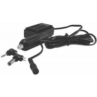 12 VOLT CIGARETTE PLUG VEHICULAR CHARGER FOR HAND HELD CB RADIOS. MULTI PIN ADAPTER PLUG ENABLES USE ON MANY ELECTRONICS