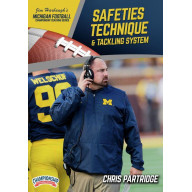 MICHIGAN FOOTBALL SERIES: SAFETIES TECHNIQUE & TACKLING SYSTEM (PARTRIDGE)