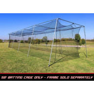 Cimarron 50x12x10 #24 Twisted Batting Cage Net Only