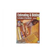 Estimating & Bidding for Builders & Remodelers - 5th Edition Book+CD, PDF & Software Download