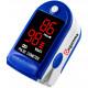 Finger Pulse Oximeter CMS50DL Blue