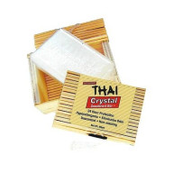 THAI Crystal Deodorant Stone in Bamboo Box 80gm