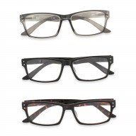 DII 3-Piece Reading Glasses(Set of 2).5