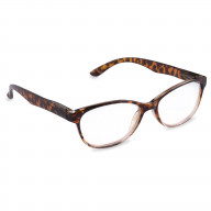 DII Womens Tortoise Reading Glasses Brown 4.0