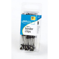 SMALL BINDER CLIPS 12CT