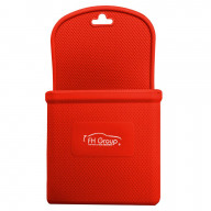 SILICONE PHONE HOLDER - RED