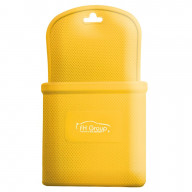 SILICONE PHONE HOLDER - YELLOW