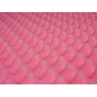 Pink Eggcrate Anti-Static Foam - 2-1/2 - Third Sheet 72 x 24