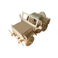 Robotic 3D Wooden Puzzle - Jeep