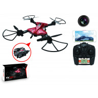 Foldable RC Drone w/Hi Res FPV Camera and Altitude Hold Function