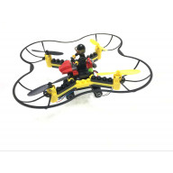 DIY Building Block RC Drone Fly n Drive Combo