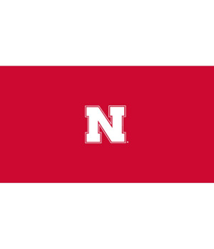 University of Nebraska 9-foot Billiard Cloth