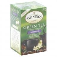 TWINING TEA, TEA GRN JASMINE, 20 BG, (Pack of 6)