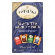 TWINING TEA, TEA VARIETY PACK, 20 BG, (Pack of 6)