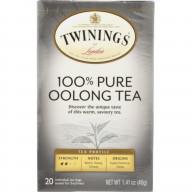 TWINING TEA, TEA CHINA OOLONG, 20 BG, (Pack of 6)