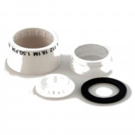 SPOUT AERATORKIT WH-CARD