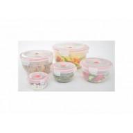 11-pcs Vacuum Food Storage Containers, Bowl