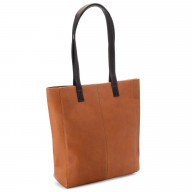 Sunset Tote - Tan Body/Cafe Accents - Tan/Cafe