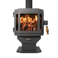 Catalyst Wood Stove - Charcoal