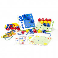 Peg Activity Stacking Set (144 pieces)