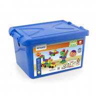 School Blocks Super 96 Pcs./Container w/characters