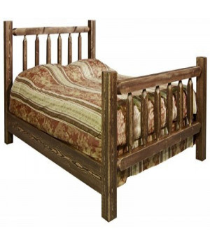 Homestead Collection Queen Bed, Stain & Lacquer Finish