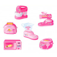 Set Of 6 Cute Simulation Model Toys Mini Home Appliances Kids Play Toys