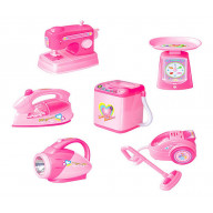 Set Of 6 Cute Simulation Model Toys Mini Home Appliances Kids Electronic Toys