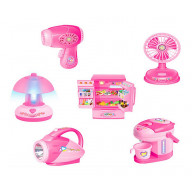 Set of 6 Simulation Model Of Home Appliances Kids Mini Electronic Toys