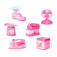Set of 6 Cute Simulation Model Of Home Appliances Kids Mini Electronic Toys