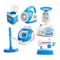 Set of 6 Mini Home Appliance Simulation Model Toys Kids Electronic Play Toys