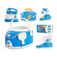 Set of 6 Lovely Mini Home Appliance Model Toys Kids Electronic Toys