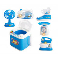Set of 6 Mini Lovely Home Appliances Model Toys Kids Electronic Toys