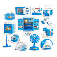 Set of 12 Mini Edition Lovely Home Appliances Model Toys Kids Electronic Toys