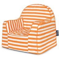 P'kolino Little Reader Chair - Stripes Orange