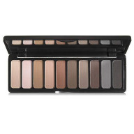 e.l.f. Cosmetics Mad for Matte Eyeshadow Palette, Ten Eyeshadow Shades for Bold or Subtle Eyes, Nude Mood